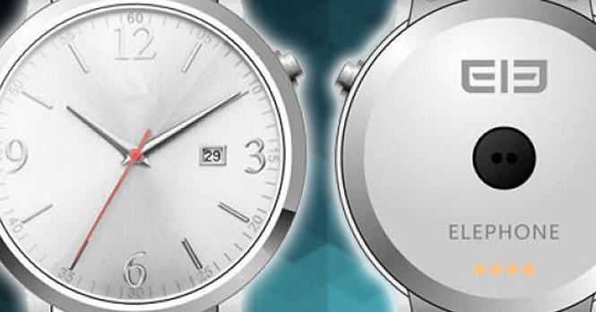 Купить elephone watch 3: дюймовый цветной дисплей, ip67 и множество функций.